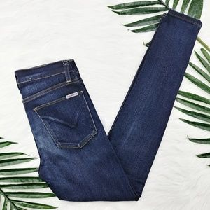 Hudson | Nico mid rise skinny jeans in Oracle wash